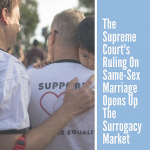 The Supreme Court's ruling on same-sex marriage opens up the Surrogacy market